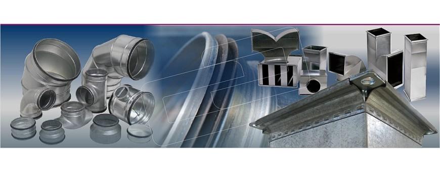 Ventilación - Conductos metálicos | Picon Sistemas