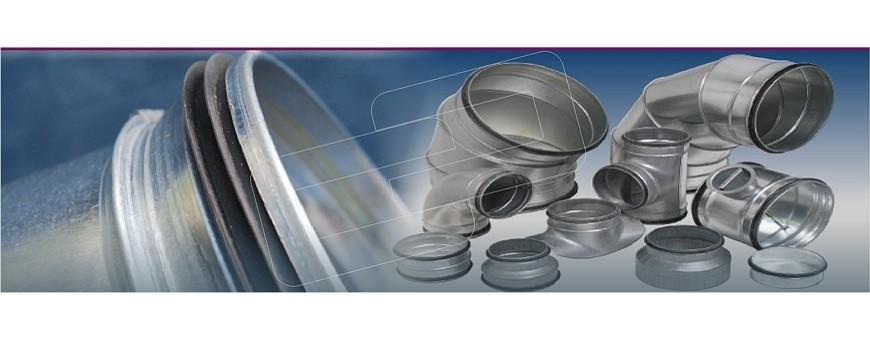 Conductos metálicos circulares | Picon Sistemas