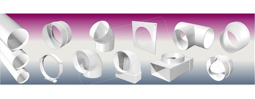 Ventilación - Conductos plásticos circulares   Picon Sistemas