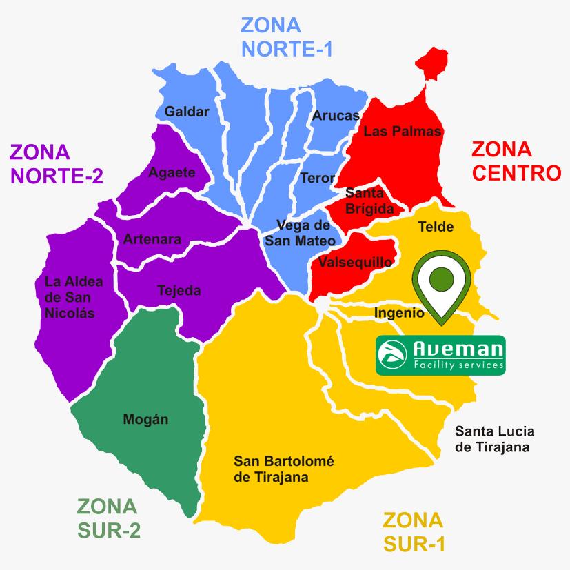 zonas Gran Canaria