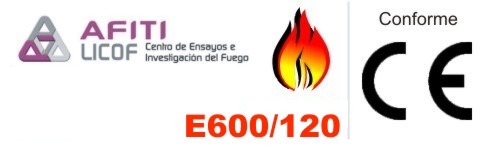 Certificación contra incendios monosector